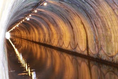 Intérieur du tunnel